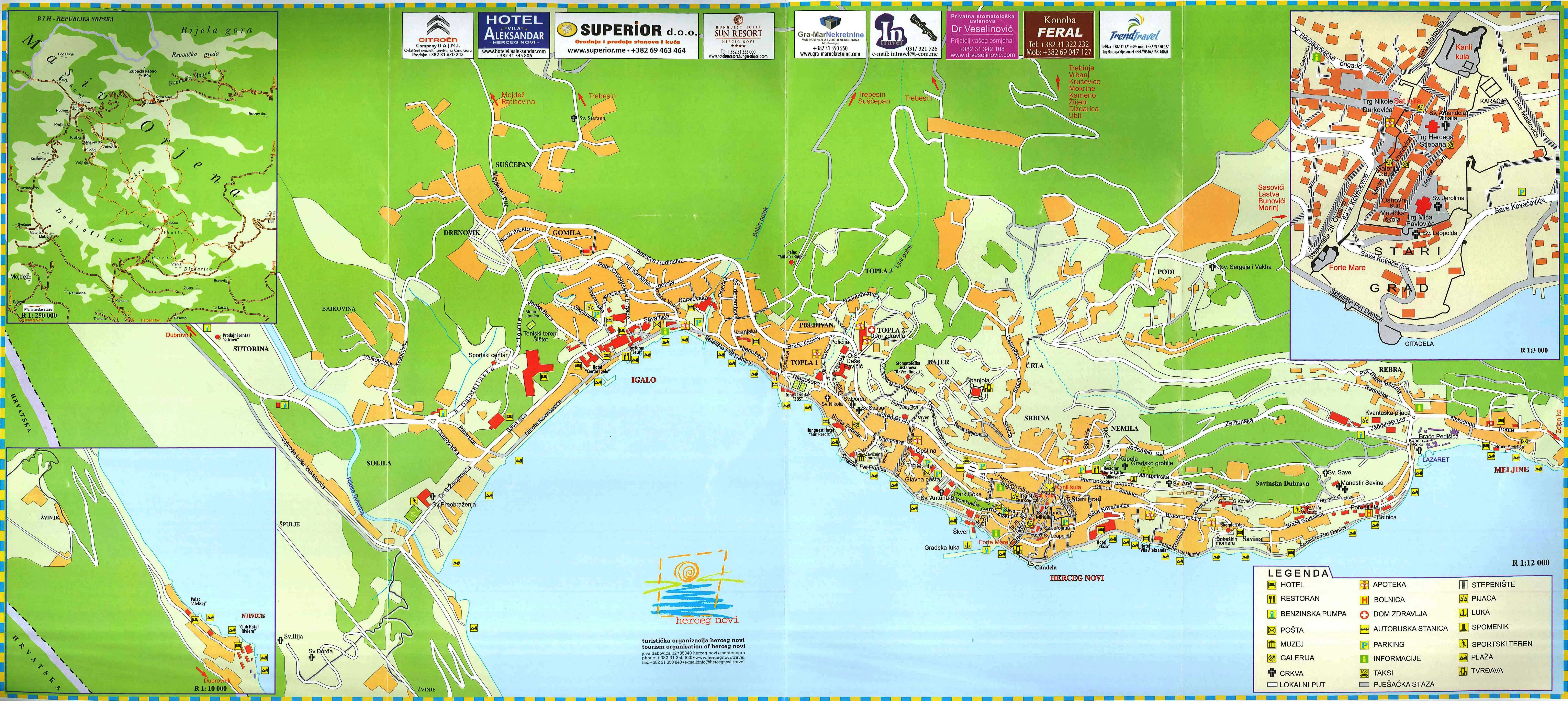 100 City Maps Plav Best 25 Montenegro Map Ideas On